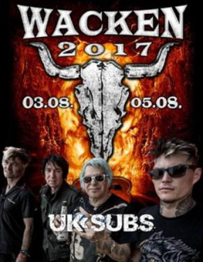 UK Subs - Wacken Open Air 2017
